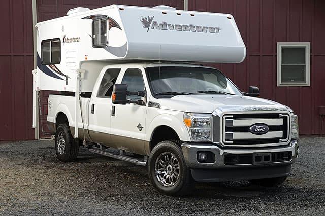 Adventurer 80RB on Ford truck