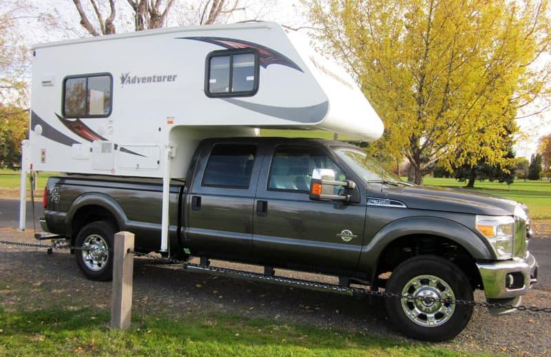 Adventurer 80S long or short bed camper