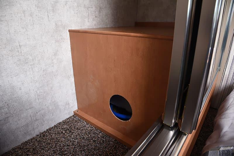 Water heater bypass access
