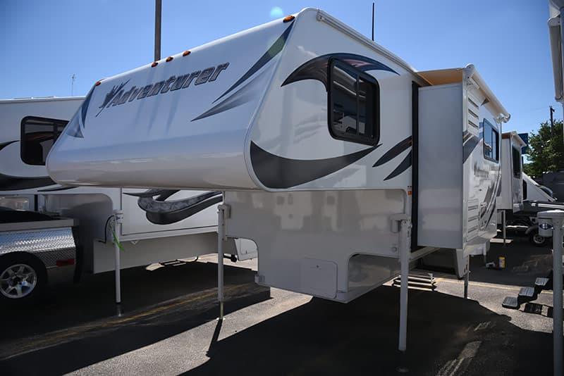 Adventurer 89RBS full wall slide out truck camper