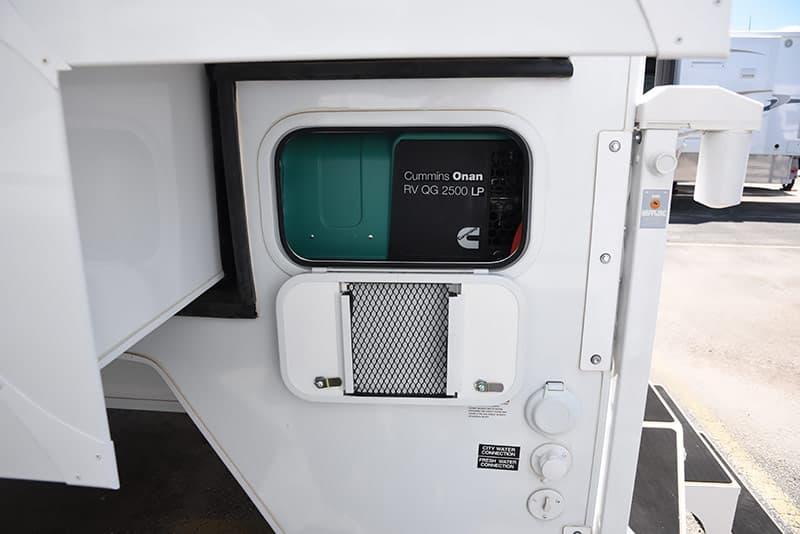 Adventurer 89RBS Generator Compartment