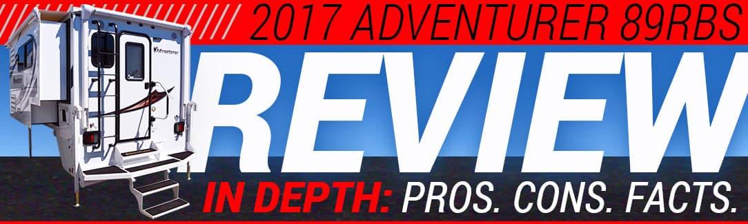 2017 Adventurer 89RBS Review - Truck Camper Magazine