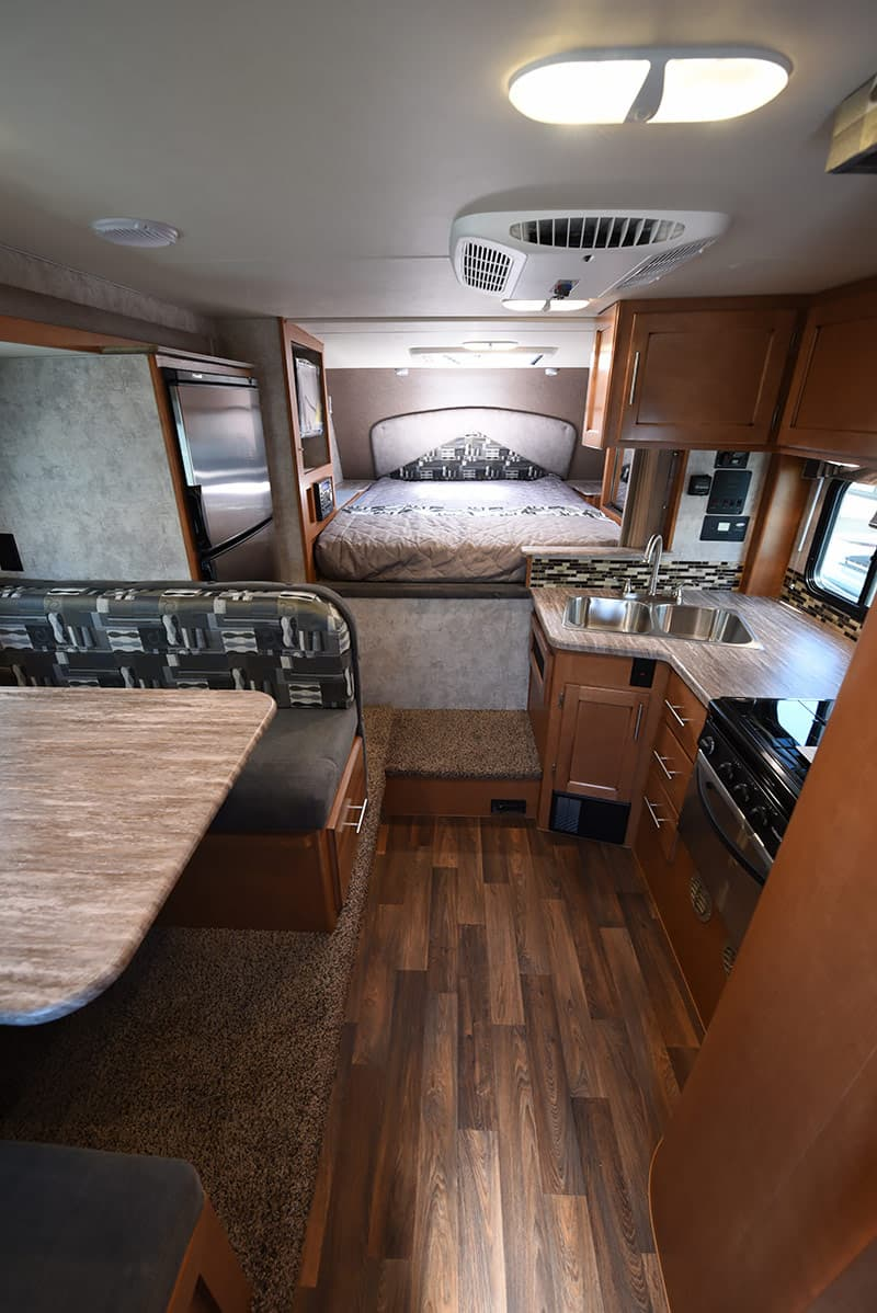 Adventurer 89RBS camper interior