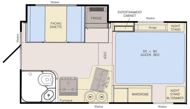 Adventurer 89RBS floor plan