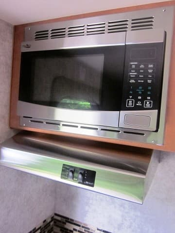 2017 Adventurer stainless microwave