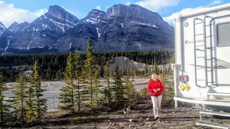 Adventurer Rocky Mountains Canada