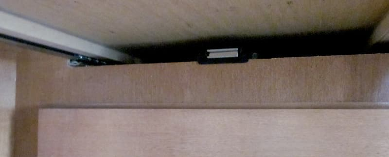 Adventurer drawer catch