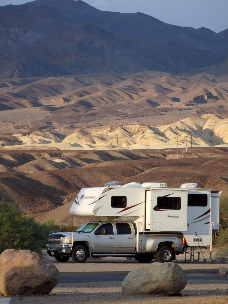 Death Valley National Park, Adventurer 116DS Camper