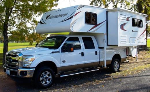 2014 Adventurer 910DB Truck Camper Magazine