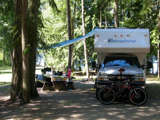 Boondocking-Mable-Lake-Provincial-Park-Lumby-British-Columbia
