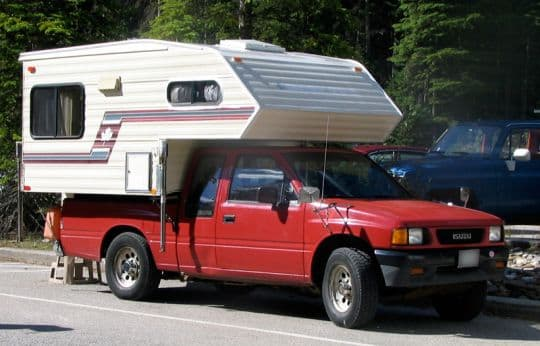 Boondocking-Old-Truck-2nd-Camper