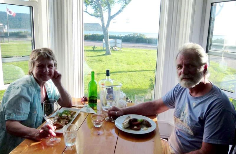 Advocate Harbour dining Nova Scotia