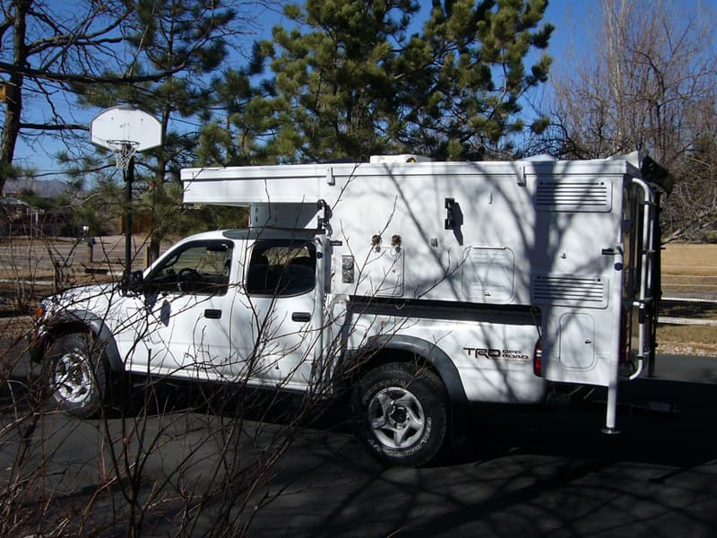 Air Dam Camper on truck