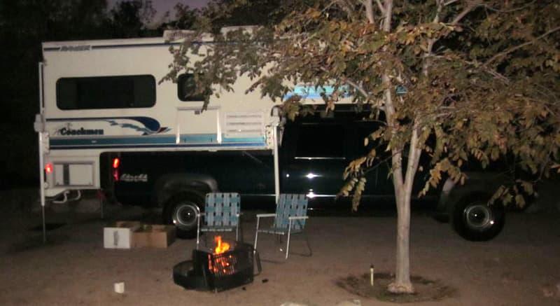 Boulder Creek Campground, Lone Pine, CA