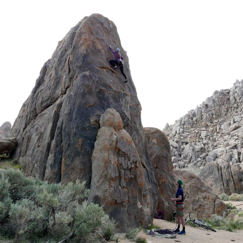 Alabama Hills, California rock climbing