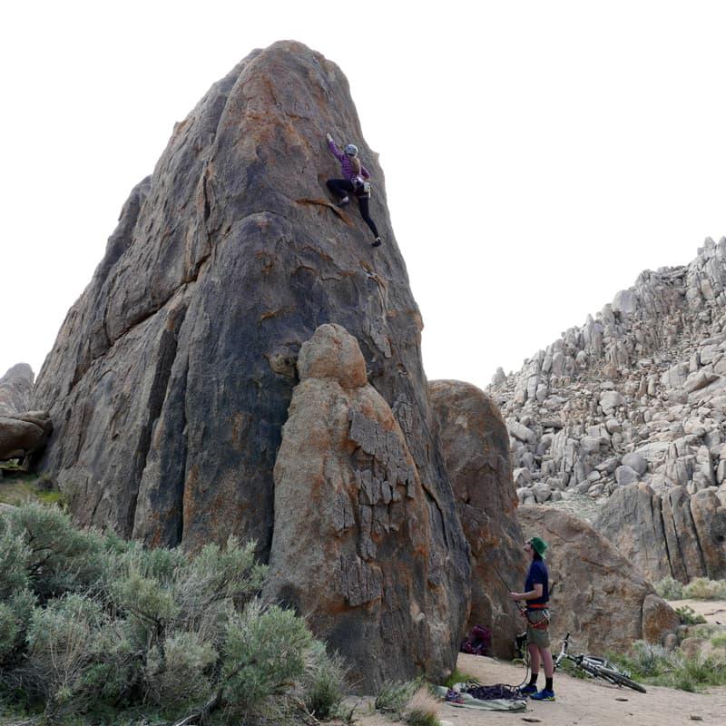 Alabama Hills, California rock climbing