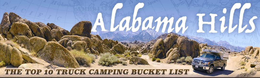 Alabama Hills, California camping
