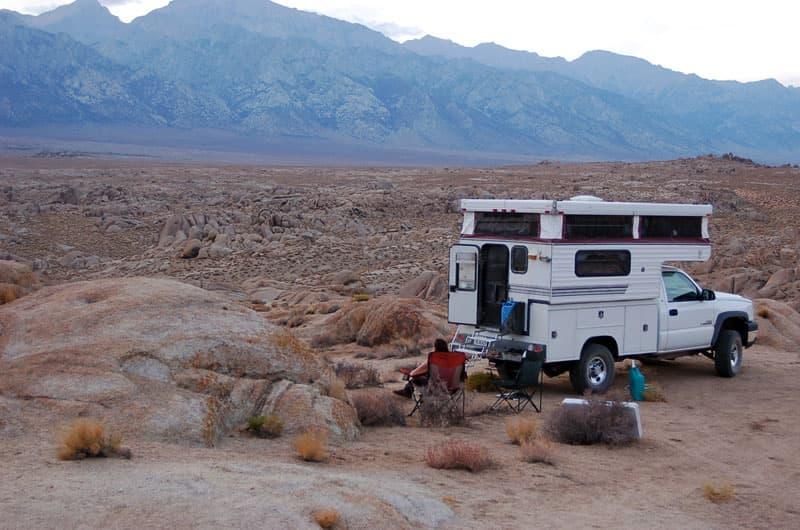 Alabama Hills Boondock Camping