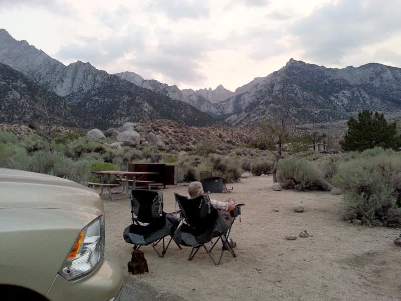 Dry Camping in Alabama Hills