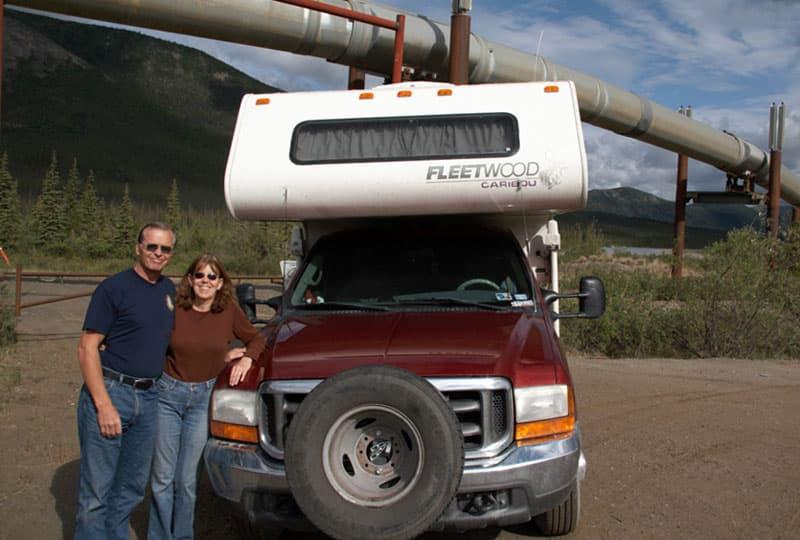 1999 Fleetwood Caribou along the Haul Road