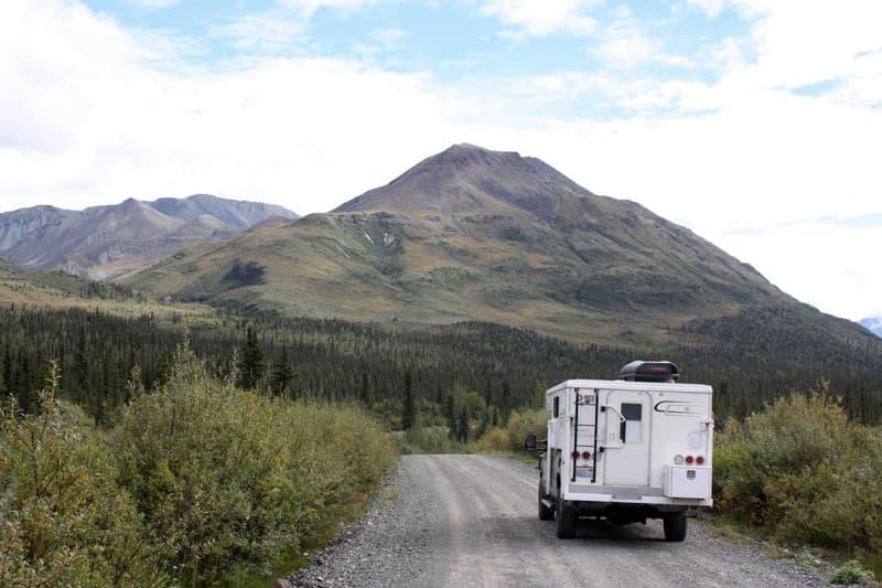 Alaska-further into Wrangell-St. Elias Park-milepost 28