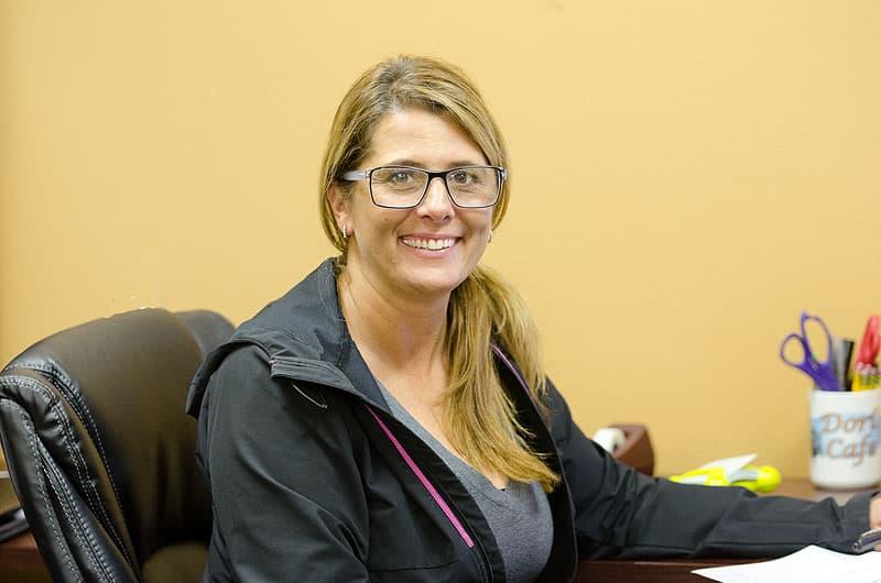 Dorrie Benson, office manager Alaskan Campers