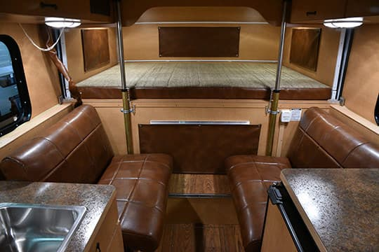 Alaskan Camper Review Interior