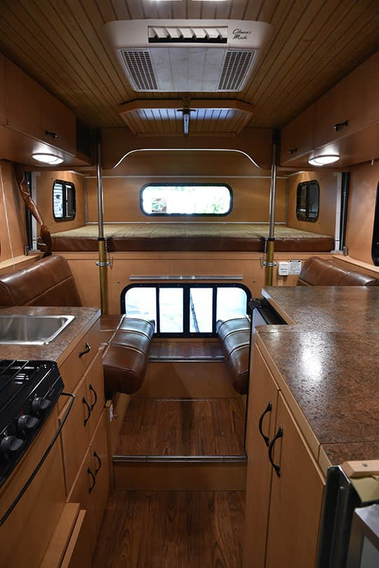 Alaskan Camper Review Photo From Door