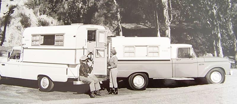 An Alaskan In Time - 1958 Alaskan Camper on