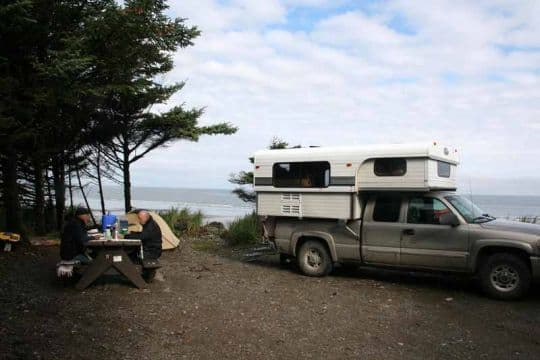 MacPherson-British-Columbia-Agate Campsite on South Beach Haida Gwaii