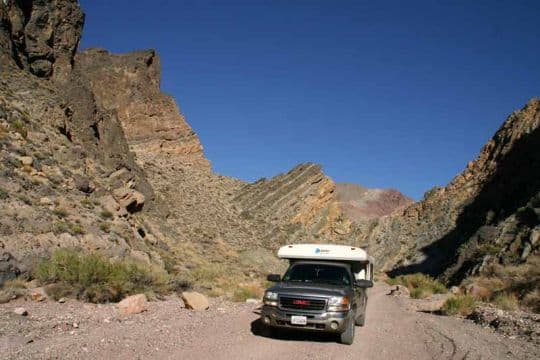 MacPherson-California-Titus Canyon in Death Valley