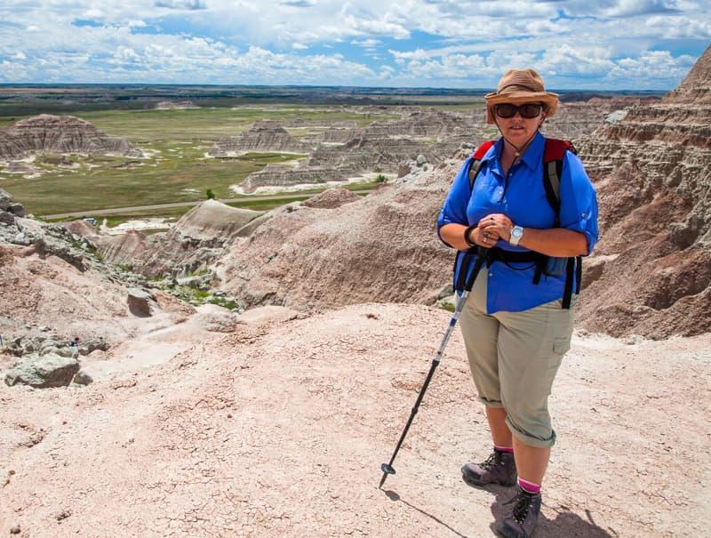Along Medicine Root Trail Badlands
