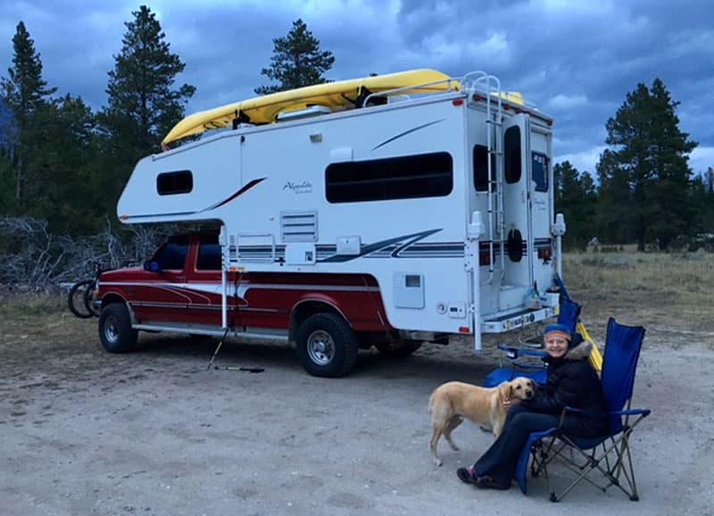 2000 Alpenlite Santa Fe Camper