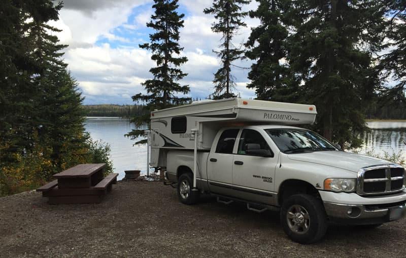 Amanita Lake Campground, McGregor, British Columbia