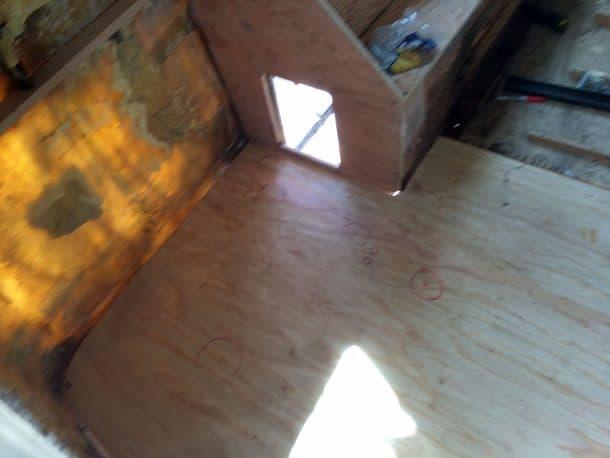 New rear floor going in.