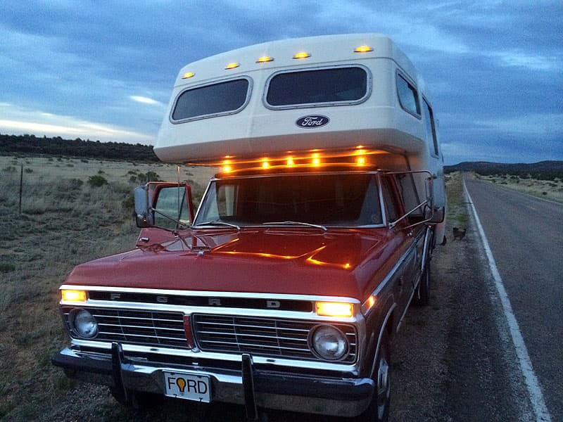 Exterior Lights F350 and American Road Camper
