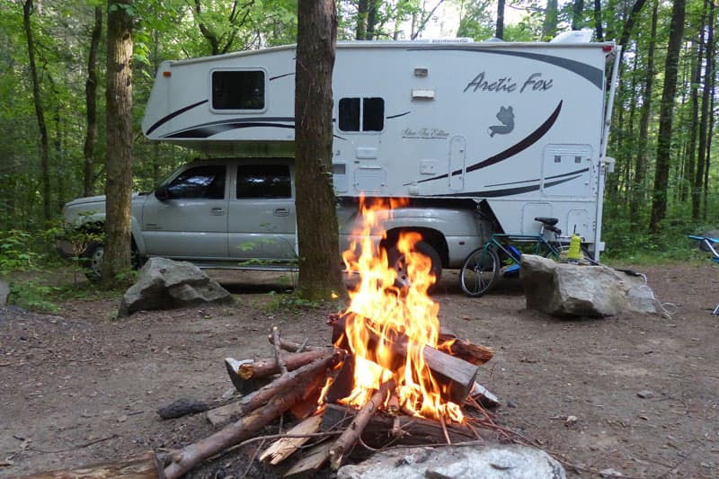 Behind the shot part 3 truck camper magazine for Sumter national forest cabins