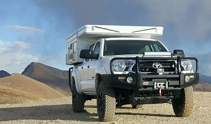 2015 Toyota Tacoma and Four Wheel Campers