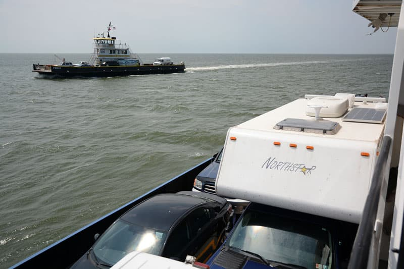 Another Ferry Going To Ocracoke Island