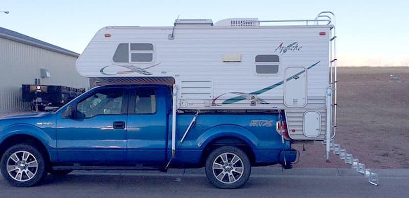 Apache truck camper