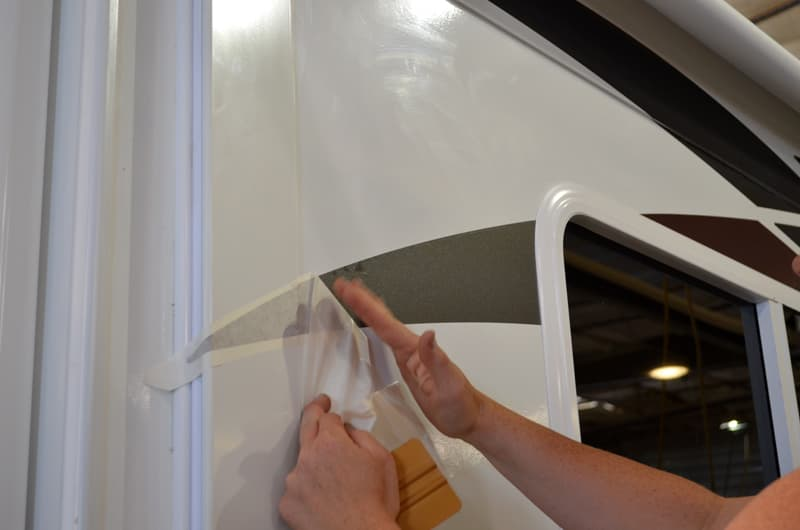 Arctic Fox New Graphics Being Applied