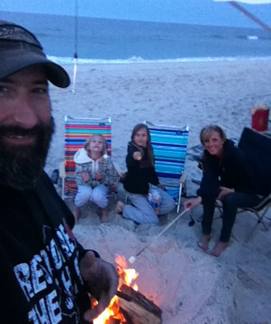 beach-camping-sand-campfire
