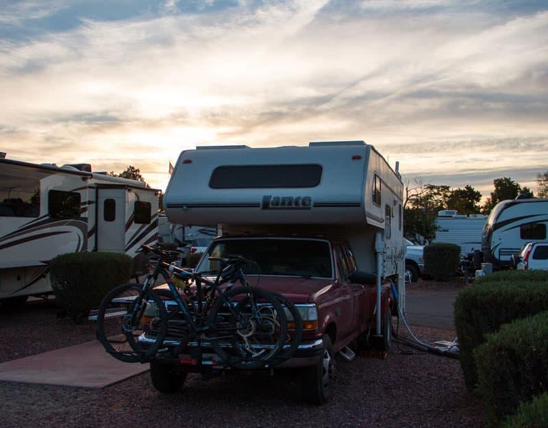 Arizona RV Park Working Phoenix Area