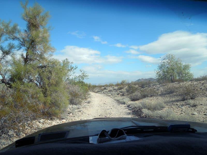 Back road Arizona