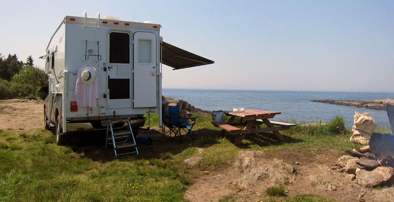 Atlantic Ocean Coastal Camping