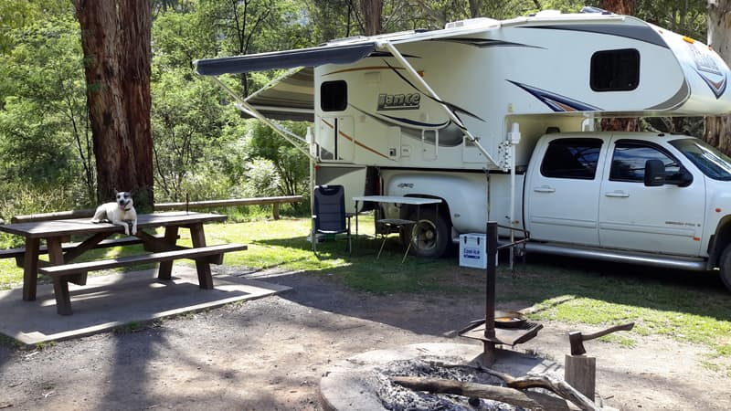 Upper Goulburn River, Lance Camper