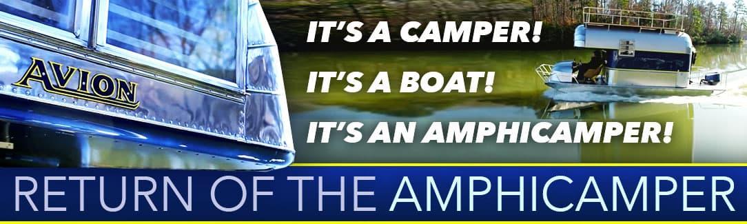 Avion Boat Camper