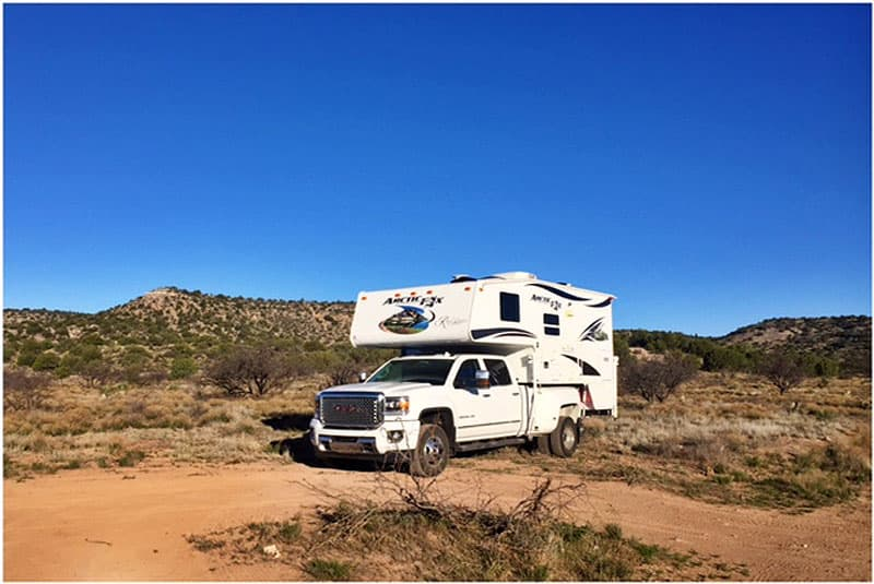 BLM camping outside Sedona