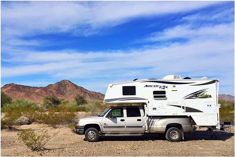 BLM Camping in Quartzsite