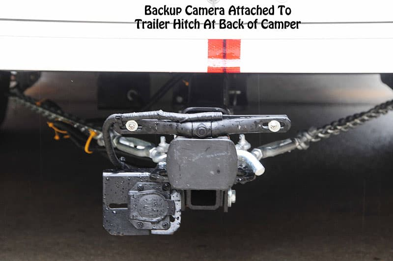 Backup Camera on Trailer Hitch